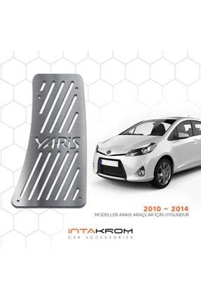 İntachrom Toyota Yaris Krom Ayak Dinlendirme Pedalı
