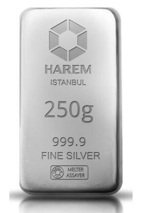 Harem Altın 250 gram Gümüş Külçe