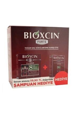 Bioxcin Forte 3'lü Serum Alana Forte Şampuan Hediye