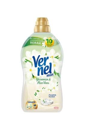 Vernel Max Konsantre Yasemin & Aloe Vera Çamaşır Yumuşatıcısı 1440 ml