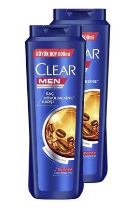 Clear Men Saç Dökülmesine Karşı Şampuan 600 Ml. Ikili Set