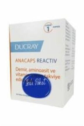 Ducray Anacaps Reactiv 30 Kapsül - Ikili Paket (265,90 Tl Etiketli)