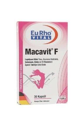 Eurho Vital Macavit F 30 Kapsul Skt:04.2021