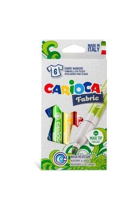 CARIOCA Kumaş Keçeli Boya Kalemi Maxi 6'lı