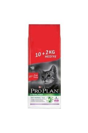 Proplan Pro Plan Hindi Etli Kısırlaştırılmış Kedi Mamasi 10+2 Kg