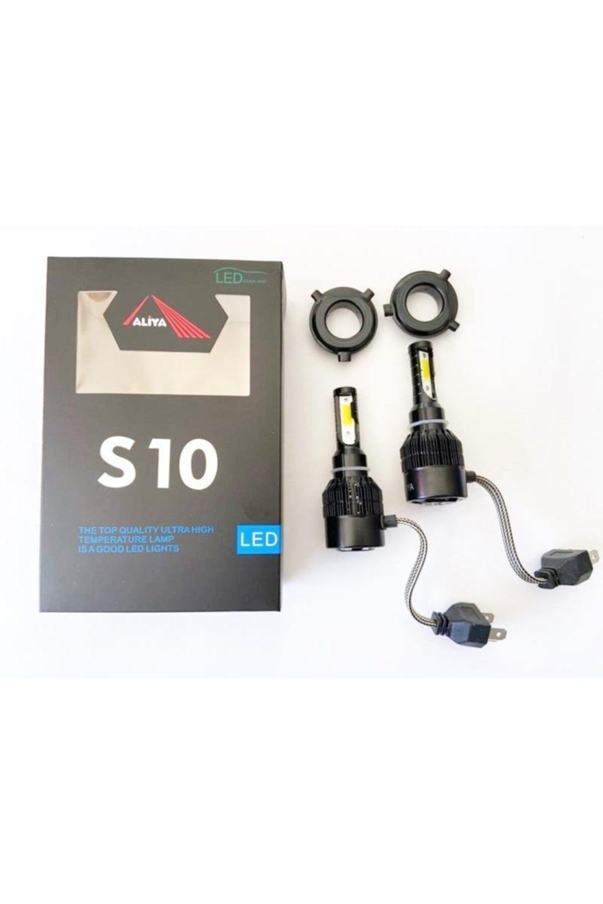 Forza S10 H4 Led Xenon 12-24v 8000 Lümen 6500 Kelvin Beyaz Işık 2 Adet 1