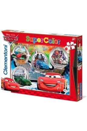 CLEMENTONI Cars Puzzle - 104 Parça