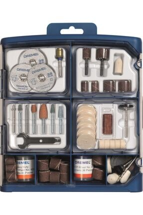 Dremel 150 Parça Multipurpose Accessory Set (724)
