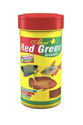 Ahm Red Green Granulat Karma Balık Yemi 100 Ml