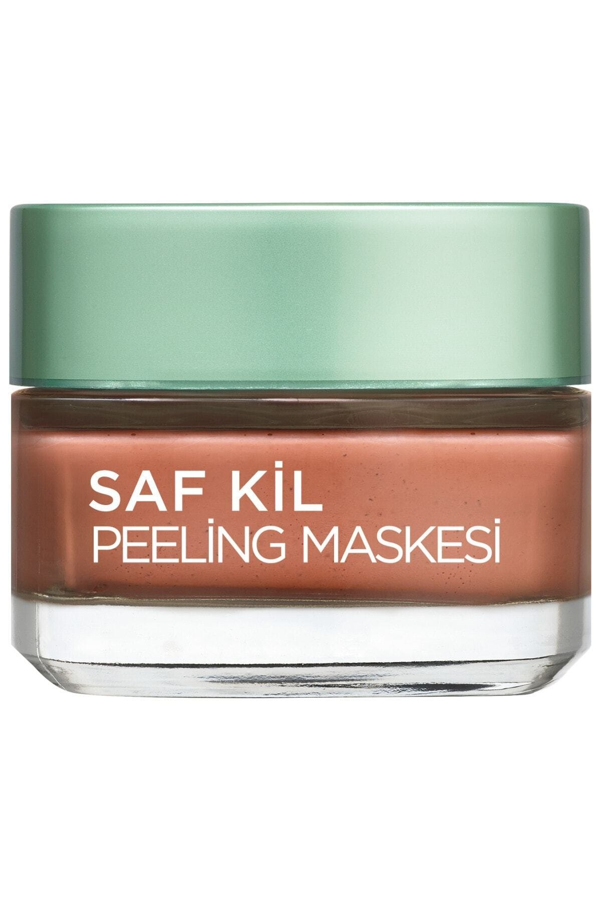 L'Oreal Paris Saf Kil Peeling Maskesi - Pure Clay 50 Ml 3600523306367 1