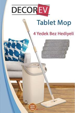 Decorev Magic Flat (tablet) Mop Set - 4 Yedek Bez Hediyeli