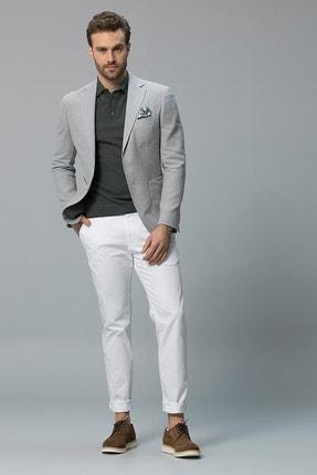 Lufian Cobh Spor Blazer Ceket Slim Fit Gri
