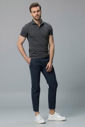 Lufian Edwardd Smart Chino Pantolon Slim Fit Lacivert