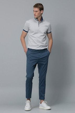 Lufian Vicent Smart Chino Pantolon Slim Fit Açık Lacivert