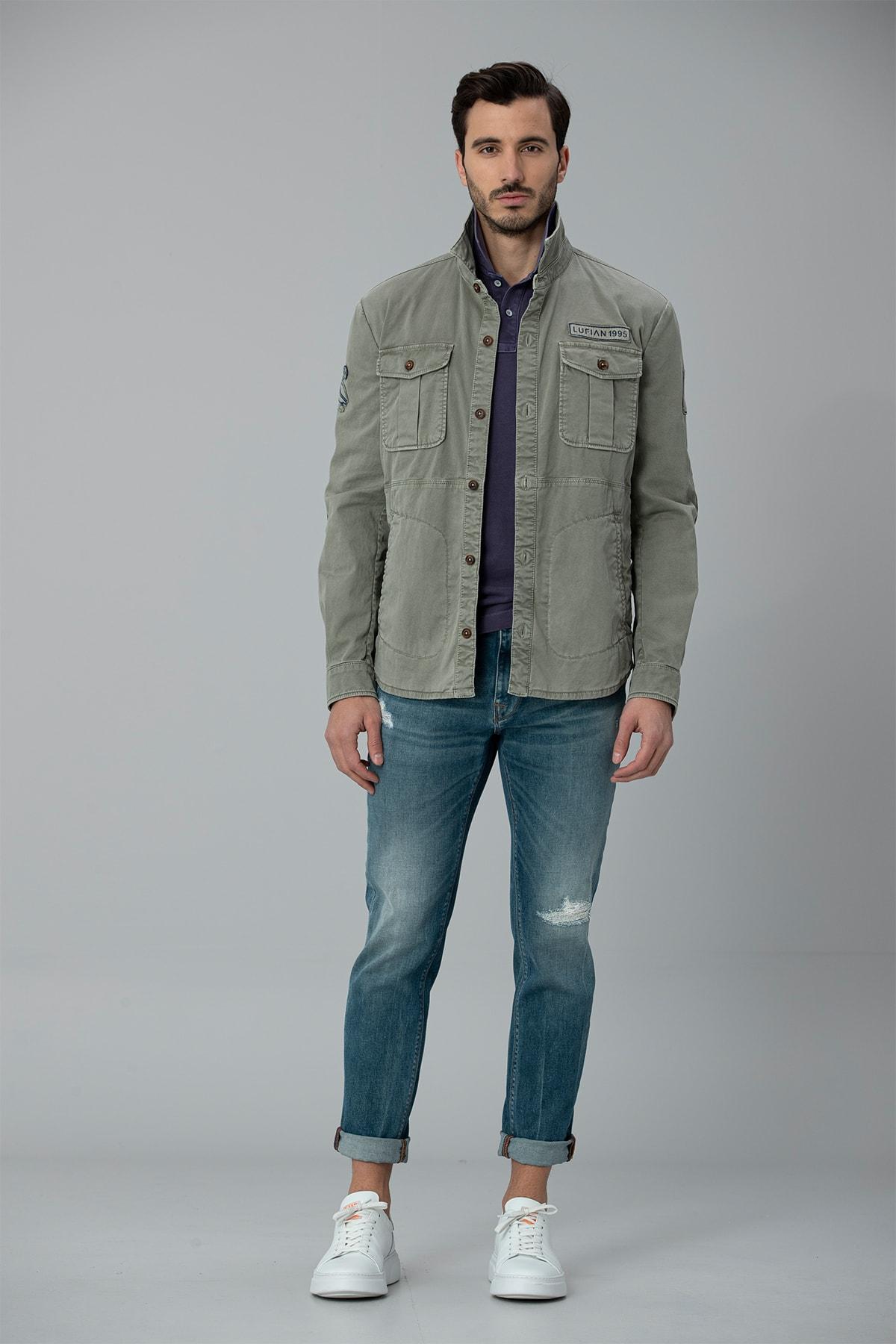 Lufian Geny Smart Jean Pantolon Slim Fit Açık Mavi