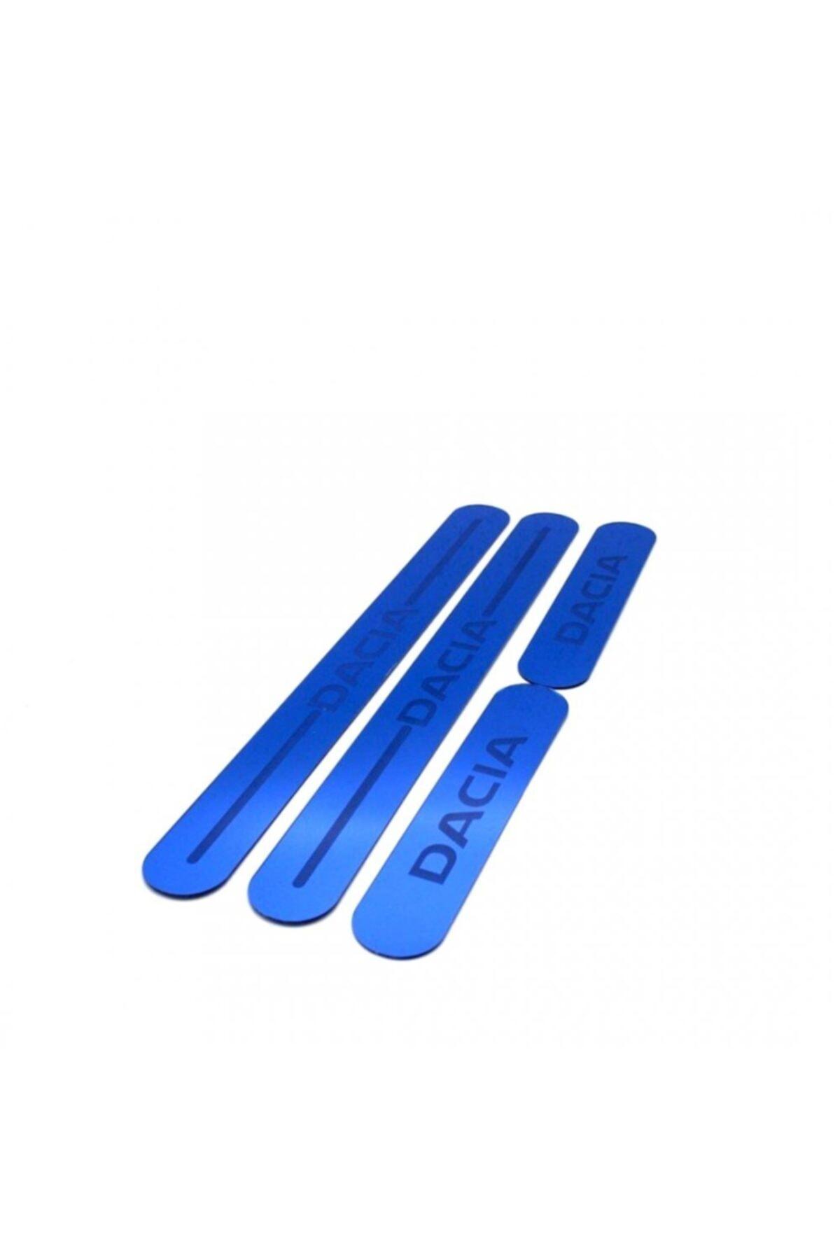 BoostZone Dacia Pleksi Üniversal Renkli Kapı Eşiği Mavi 1
