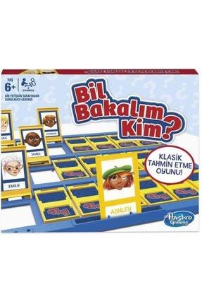 Bil Bakalım Kim Oyunu C2124 - Çocuk Aile Kutu Oyunu