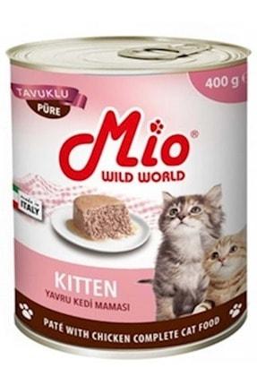 MİO Kitten Püre Tavuklu Kedi Konservesi 400 Gr
