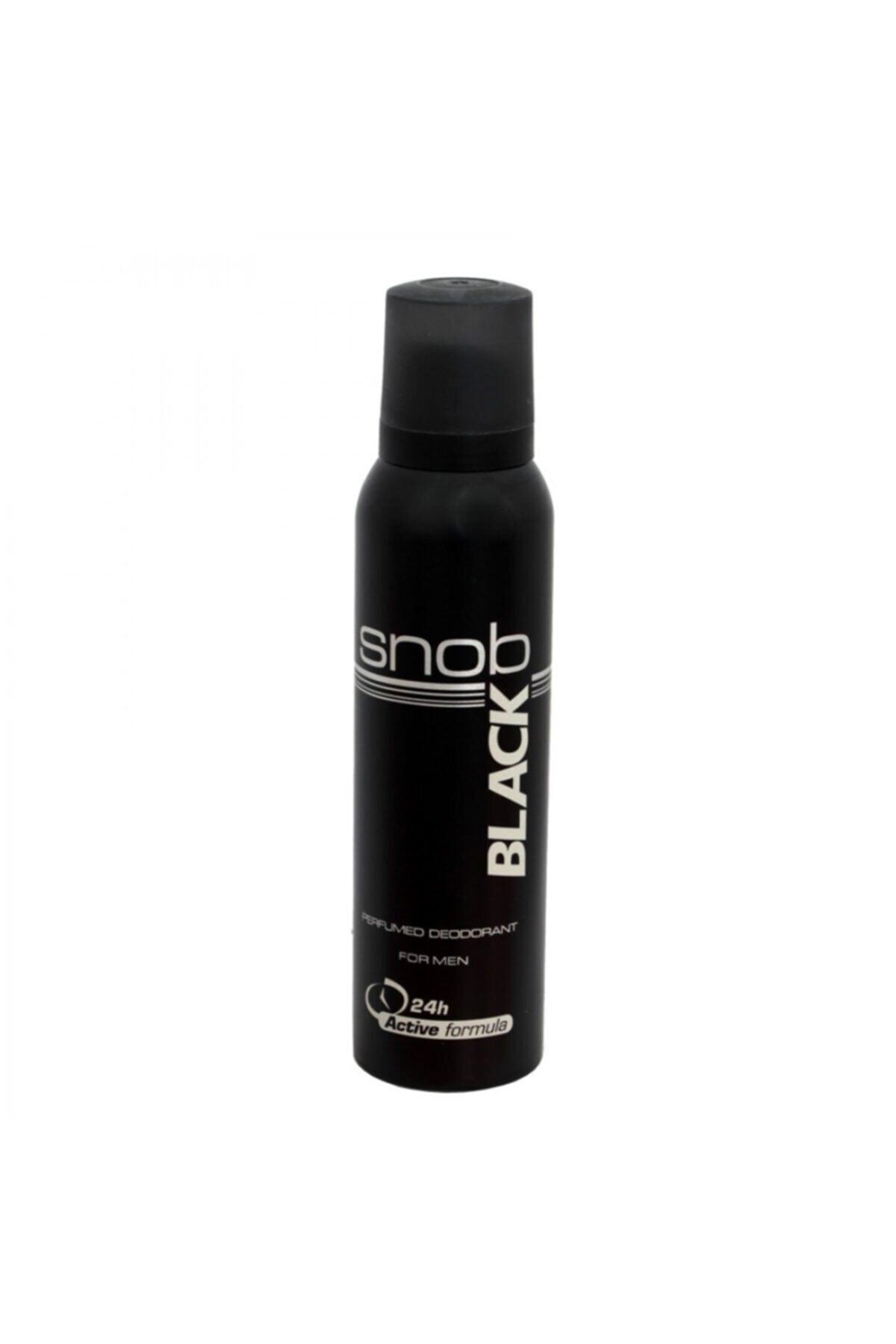Snob For Men Black Deodorant 150ml 1