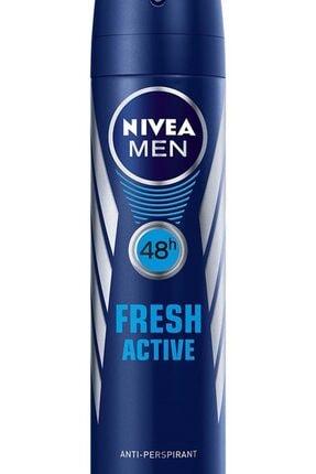 Nivea Men Deodorant Fresh Active Erkek 150 ml