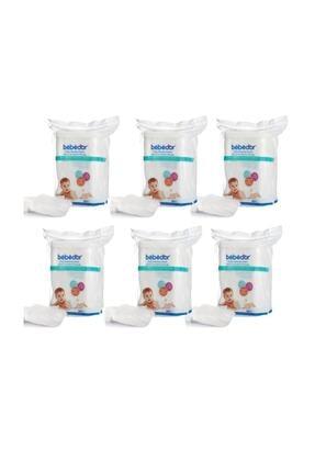 Bebedor Bebek Temizleme Pamuğu 60 Lı 6 Adet