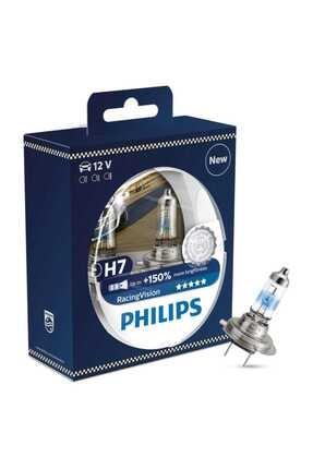 Philips H7 Raicing Vision Far Ampulü %150 Daha Fazla Işık