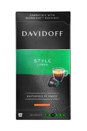 Davidoff Elegance Style Lungo Kapsül Kahve 10'lu ( Nespresso Uyumlu)
