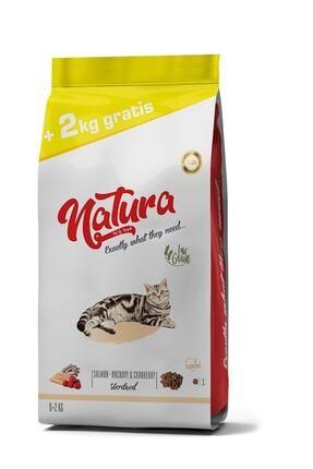 natura Düşük Tahıllı Kısırlaştırılmış Kedi Maması Hamsi, Somon & Bögürtlen 10 Kg