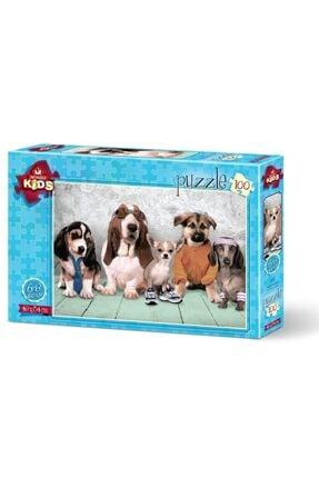 Anatolian Puzzle Model Köpekler 100 Parça