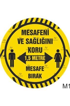 3M Sosyal Mesafe Yer Sticker