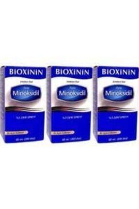 Bioxcin Bioxinin Forte Minoksidil %5 Deri Spreyi 60 Ml - 3 Adet Ekonomik Paket