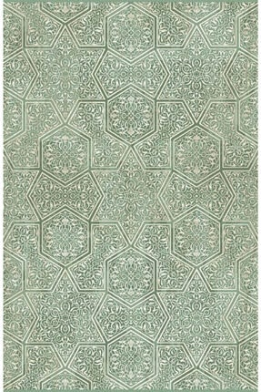 Sanat Halı Zirve Koleksiyonu 2161 Yeşil 80x150
