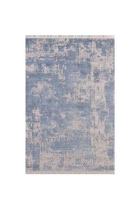 Sanat Halı Mavi Asi Plus Saçaklı Halı 80x300