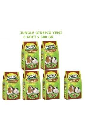 Jungle Ginepig Yemi 500 Gr X 6 Adet