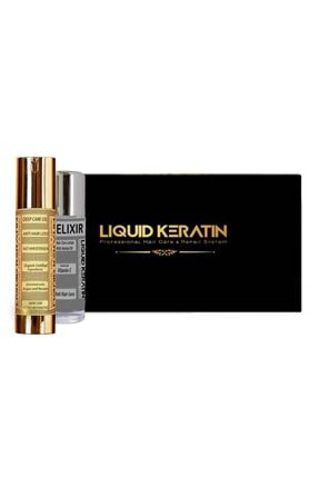 Liquid Keratin Keratin Plus Saç Güçlendirici Set