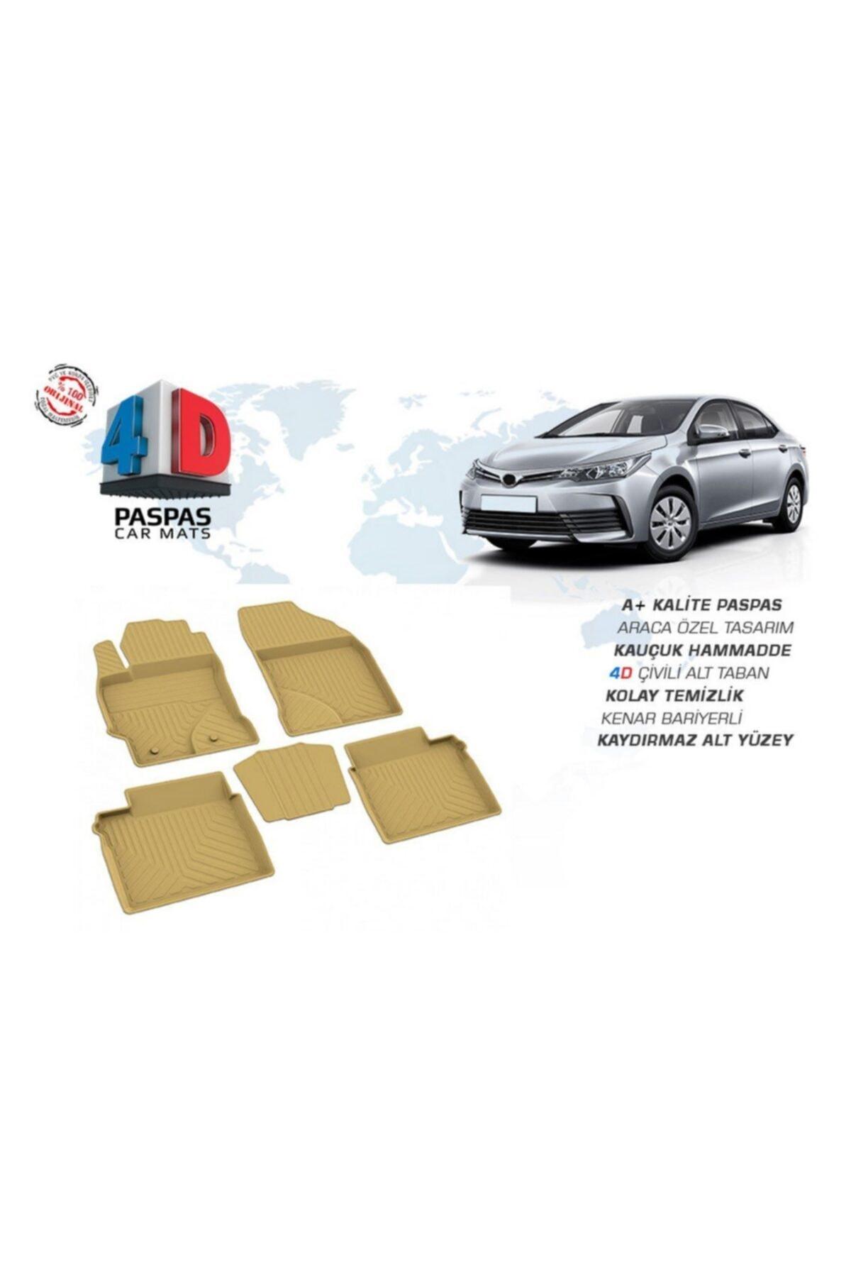 OmsaLine Toyota Corolla Sd 2013-2018 4d Paspas Bej 1.sınıf Kalite 1