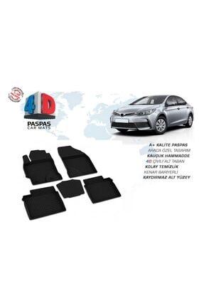 OmsaLine Toyota Corolla Sd 2013-2018 4d Paspas Siyah 1.sınıf Kalite