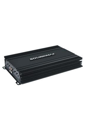Soundmax Sx-2500.4 3000 Watt 4ch Yeni Seri Oto Anfi