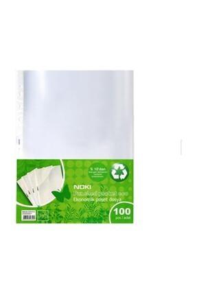 Noki Eco Poşet Dosya A/4 100lü 3 Paket 300 Adet