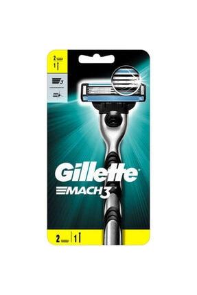 Gillette Mach-3 Tıraş Makinesi + 2 Yedek Başlık