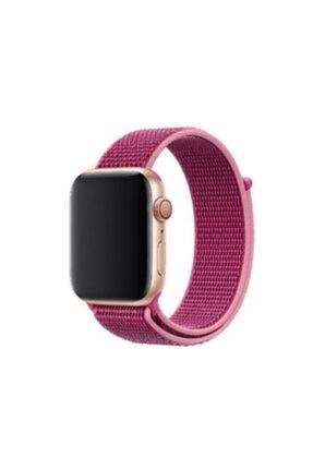 Apple Watch 42 44mm Krd 03 Hasır Kordon