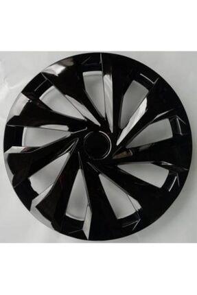 BİRKAN Üniversal 15 Inch Piano Black Kırılmaz 4 Set Jant Kapağı