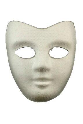 Joy and Toys Boyanabilir Boyama Maskesi ( Parti ) Kağıt Karton Maske 10 Adet