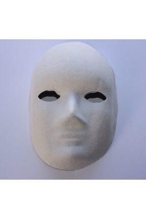 Joy and Toys Boyanabilir Boyama Maskesi ( Erkek ) Kağıt Karton Maske 25 Adet