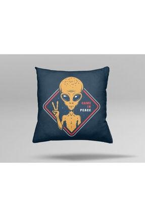 Prime Design Sarı Özel Tasarım Dekoratif Yastık Kılıfı