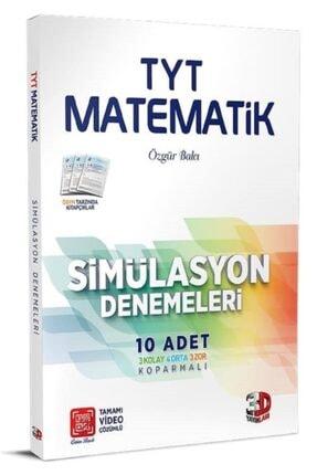 Çözüm Yayınları 3d Yayınları Tyt Matematik 10'lu Simülasyon Denemeleri Tamamı Video Çözümlü