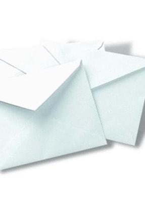 Oyal Mektup Zarfı 12,5*16 Cm. Beyaz 90 Gr. 100 Lü
