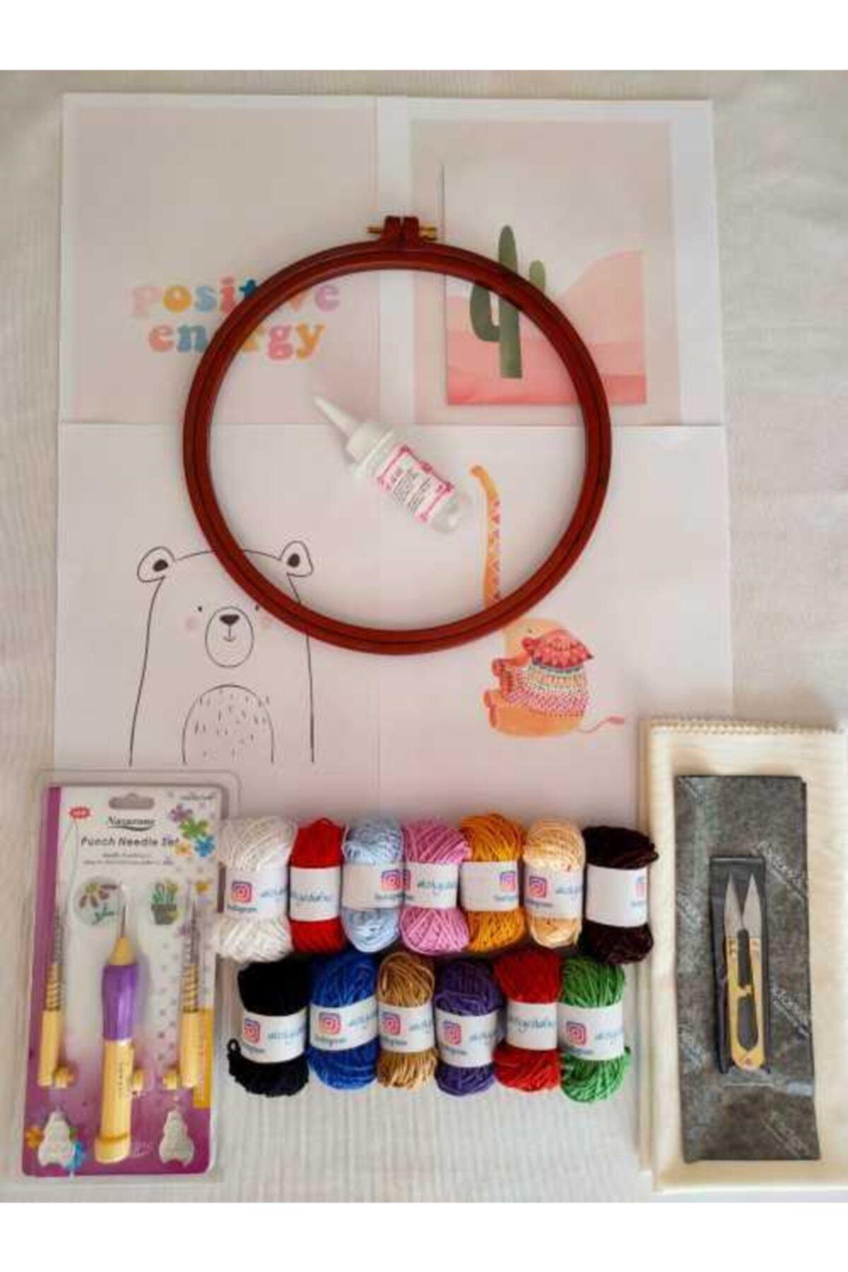 Dafne Dükkan Dafne Pastel Renkler Punch Başlangıç Seti 1