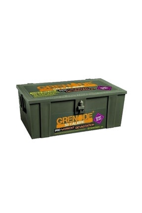 Grenade 50 Calibre Pre-workout 50 Servis Portakal Aromalı
