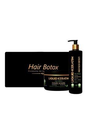 Liquid Keratin Kabaran Saçlara Özel Bakım Seti 8680831152128